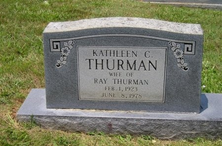 THURMAN, KATHLEEN C. - Sequatchie County, Tennessee | KATHLEEN C. THURMAN - Tennessee Gravestone Photos