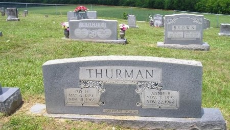 BOYNTON THURMAN, ANNIE - Sequatchie County, Tennessee | ANNIE BOYNTON THURMAN - Tennessee Gravestone Photos