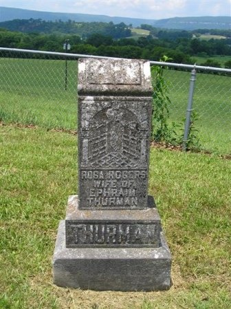 THURMAN, ROSA - Sequatchie County, Tennessee | ROSA THURMAN - Tennessee Gravestone Photos