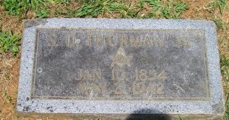 THURMAN, STEPHEN DEAKINS JR. - Sequatchie County, Tennessee | STEPHEN DEAKINS JR. THURMAN - Tennessee Gravestone Photos