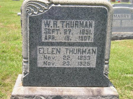 THURMAN, ELLEN - Sequatchie County, Tennessee | ELLEN THURMAN - Tennessee Gravestone Photos