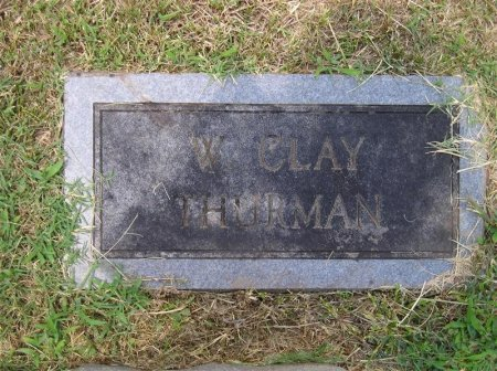 THURMAN, WILLIAM CLAY - Sequatchie County, Tennessee | WILLIAM CLAY THURMAN - Tennessee Gravestone Photos