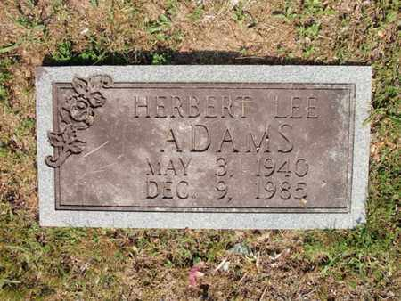 ADAMS, HERBERT LEE - Sevier County, Tennessee | HERBERT LEE ADAMS - Tennessee Gravestone Photos