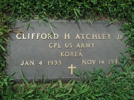 ATCHLEY JR, CLIFFORD HARRIS - Sevier County, Tennessee | CLIFFORD HARRIS ATCHLEY JR - Tennessee Gravestone Photos