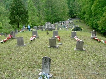 *CEMETERY VIEW,  - Sevier County, Tennessee |  *CEMETERY VIEW - Tennessee Gravestone Photos