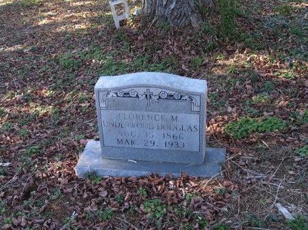 UNDERWOOD DOUGLAS, FLORENCE - Sevier County, Tennessee | FLORENCE UNDERWOOD DOUGLAS - Tennessee Gravestone Photos