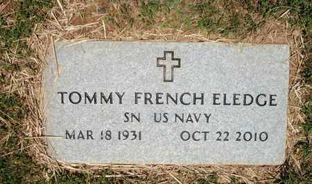 ELEDGE   (VETERAN), TOMMY FRENCH - Sevier County, Tennessee   TOMMY FRENCH ELEDGE   (VETERAN) - Tennessee Gravestone Photos