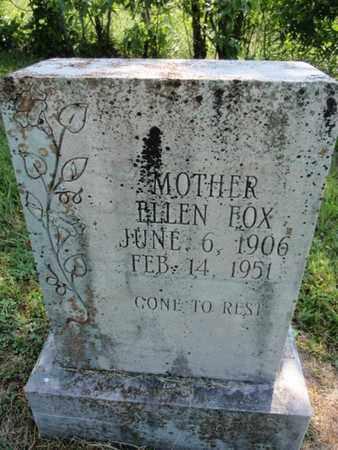 FOX, ELLEN - Sevier County, Tennessee | ELLEN FOX - Tennessee Gravestone Photos