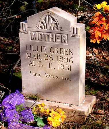 GREEN, LILLIE - Sevier County, Tennessee | LILLIE GREEN - Tennessee Gravestone Photos