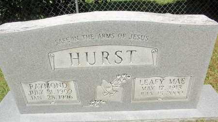 HURST, LEAFY MAE - Sevier County, Tennessee | LEAFY MAE HURST - Tennessee Gravestone Photos