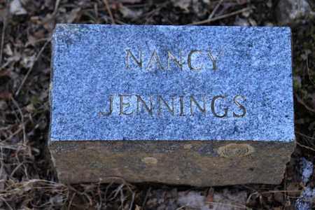 JENNINGS, NANCY - Sevier County, Tennessee | NANCY JENNINGS - Tennessee Gravestone Photos