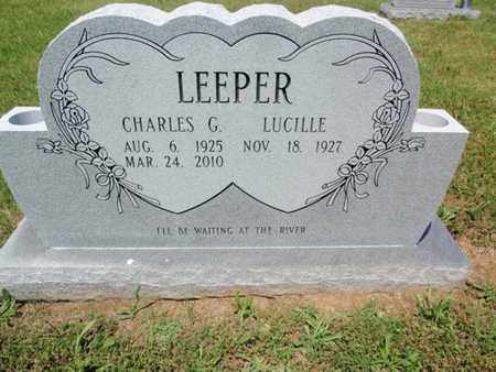 LEEPER, CHARLES G - Sevier County, Tennessee | CHARLES G LEEPER - Tennessee Gravestone Photos