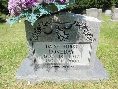 HURST LOVEDAY, DAISY - Sevier County, Tennessee | DAISY HURST LOVEDAY - Tennessee Gravestone Photos