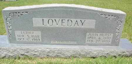 HURST LOVEDAY, JULIA - Sevier County, Tennessee | JULIA HURST LOVEDAY - Tennessee Gravestone Photos