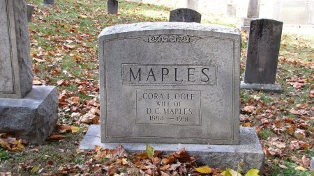 MAPLES, CORA L. - Sevier County, Tennessee   CORA L. MAPLES - Tennessee Gravestone Photos