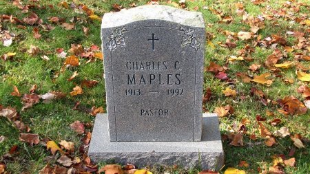 MAPLES, CHARLES C. - Sevier County, Tennessee | CHARLES C. MAPLES - Tennessee Gravestone Photos