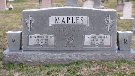 MAPLES, MINNIE - Sevier County, Tennessee | MINNIE MAPLES - Tennessee Gravestone Photos