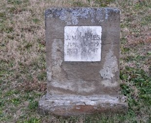 MAPLES, J. M. - Sevier County, Tennessee | J. M. MAPLES - Tennessee Gravestone Photos
