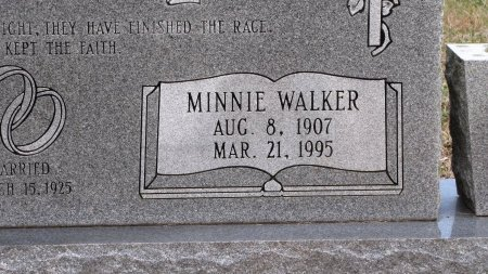 MAPLES, MINNIE (CLOSE UP) - Sevier County, Tennessee | MINNIE (CLOSE UP) MAPLES - Tennessee Gravestone Photos
