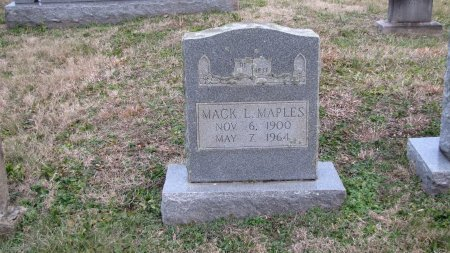 MAPLES, MACK L. - Sevier County, Tennessee | MACK L. MAPLES - Tennessee Gravestone Photos