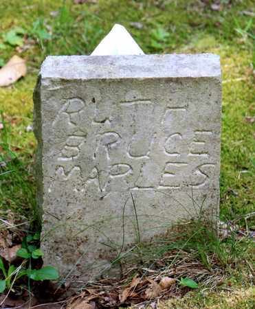 MAPLES, RUTH - Sevier County, Tennessee | RUTH MAPLES - Tennessee Gravestone Photos