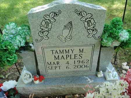 MAPLES, TAMMY M - Sevier County, Tennessee   TAMMY M MAPLES - Tennessee Gravestone Photos