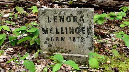 MELLINGER, LENORA - Sevier County, Tennessee | LENORA MELLINGER - Tennessee Gravestone Photos