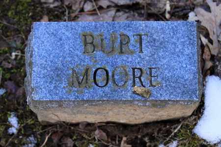 MOORE, BURT - Sevier County, Tennessee | BURT MOORE - Tennessee Gravestone Photos