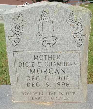 MORGAN, DICIE E - Sevier County, Tennessee | DICIE E MORGAN - Tennessee Gravestone Photos