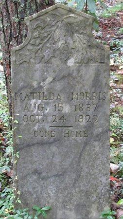 MORRIS, MATILDA - Sevier County, Tennessee | MATILDA MORRIS - Tennessee Gravestone Photos
