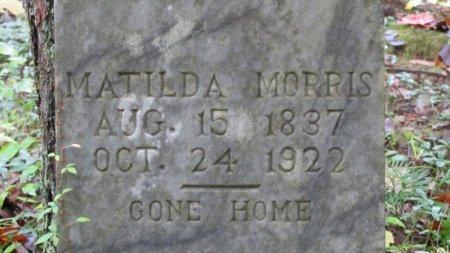 MORRIS, MATILDA (CLOSE UP) - Sevier County, Tennessee | MATILDA (CLOSE UP) MORRIS - Tennessee Gravestone Photos