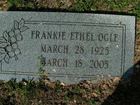 OGLE, FRANKIE ETHEL - Sevier County, Tennessee | FRANKIE ETHEL OGLE - Tennessee Gravestone Photos