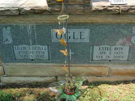 OGLE, LILLIE LUCILLE - Sevier County, Tennessee | LILLIE LUCILLE OGLE - Tennessee Gravestone Photos