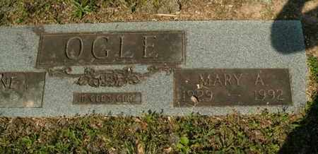 OGLE, MARY A - Sevier County, Tennessee | MARY A OGLE - Tennessee Gravestone Photos