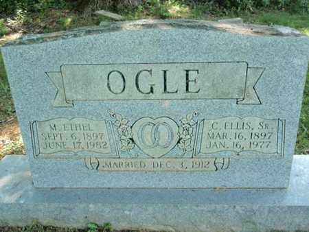 OGLE, MARTHA ETHEL - Sevier County, Tennessee | MARTHA ETHEL OGLE - Tennessee Gravestone Photos