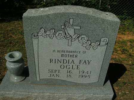 OGLE, RINDIA FAY - Sevier County, Tennessee | RINDIA FAY OGLE - Tennessee Gravestone Photos