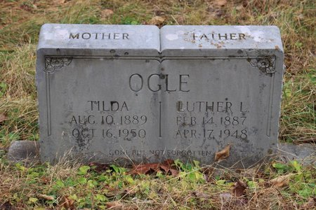 OGLE, LUTHER L. - Sevier County, Tennessee | LUTHER L. OGLE - Tennessee Gravestone Photos