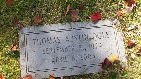 OGLE, THOMAS AUSTIN - Sevier County, Tennessee | THOMAS AUSTIN OGLE - Tennessee Gravestone Photos