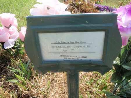 SPURLING OWENS, CRIS ROBERTA - Sevier County, Tennessee   CRIS ROBERTA SPURLING OWENS - Tennessee Gravestone Photos