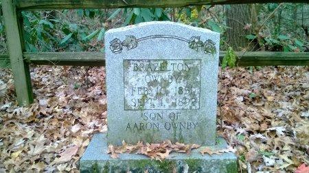 OWNBY, BRAZELTON - Sevier County, Tennessee | BRAZELTON OWNBY - Tennessee Gravestone Photos