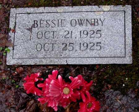 OWNBY, BESSIE - Sevier County, Tennessee | BESSIE OWNBY - Tennessee Gravestone Photos