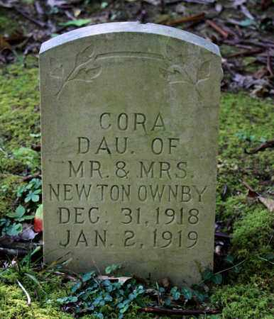 OWNBY, CORA - Sevier County, Tennessee | CORA OWNBY - Tennessee Gravestone Photos