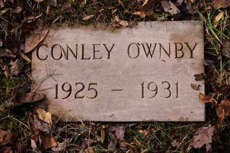 OWNBY, CONLEY - Sevier County, Tennessee | CONLEY OWNBY - Tennessee Gravestone Photos