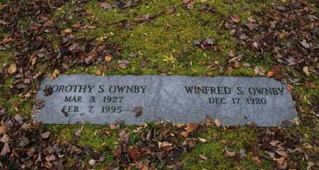 OWNBY, WINFRED S. - Sevier County, Tennessee | WINFRED S. OWNBY - Tennessee Gravestone Photos