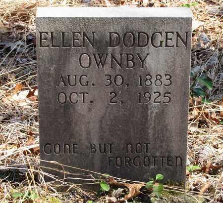 OWNBY, ELLEN - Sevier County, Tennessee   ELLEN OWNBY - Tennessee Gravestone Photos