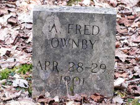 OWNBY, FRED - Sevier County, Tennessee   FRED OWNBY - Tennessee Gravestone Photos
