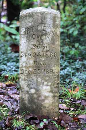OWNBY, HETTIE - Sevier County, Tennessee | HETTIE OWNBY - Tennessee Gravestone Photos