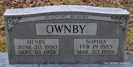 OWNBY, SOPHIA - Sevier County, Tennessee | SOPHIA OWNBY - Tennessee Gravestone Photos