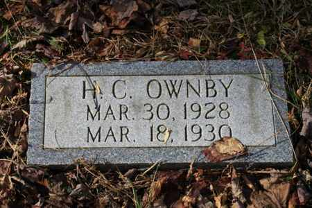 OWNBY, H. C. - Sevier County, Tennessee | H. C. OWNBY - Tennessee Gravestone Photos