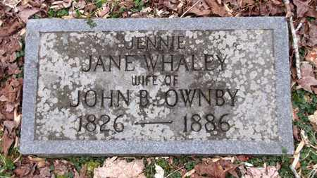OWNBY, JENNIE - Sevier County, Tennessee   JENNIE OWNBY - Tennessee Gravestone Photos